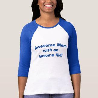 Autismus-Bewusstseins-Mamma T-Shirt
