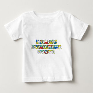 Autismus-Bewusstseins-Monat - April Baby T-shirt