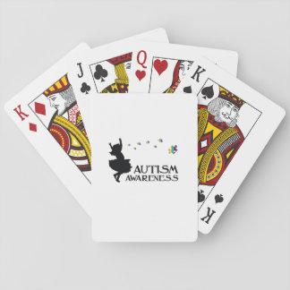 Autismus-Bewusstseins-Puzzlespiel-Band-Geschenk Spielkarten