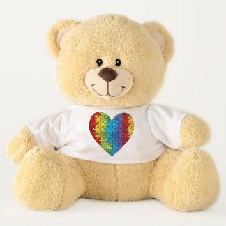 """Autismus-Geschenk-Bär 21"""" Sherman-Teddybär"""