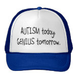 Autismus-heute Genie morgen Retrokappe