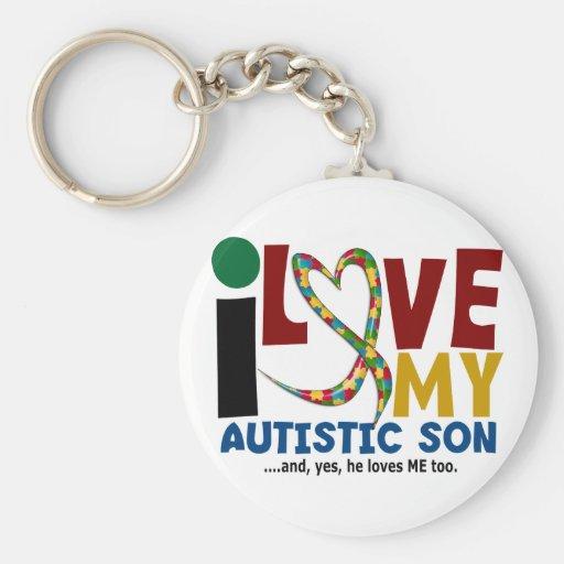 AUTISMUS I Liebe mein autistischer Sohn 2 Schlüsselbänder
