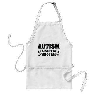 Autismus ist ein Teil von, wem ich bin Schürze