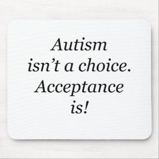 Autismus ist nicht… ein auserlesenes mousepad