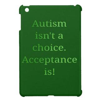 Autismus ist nicht eine Wahl (Grün iPad Mini Hülle