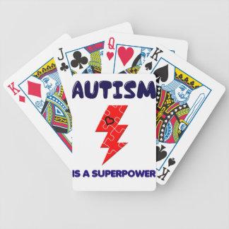 Autismus ist Supermacht, Bicycle Spielkarten
