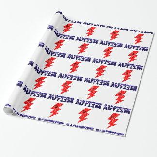 Autismus ist Supermacht, Geschenkpapier