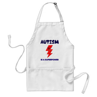 Autismus ist Supermacht, Schürze