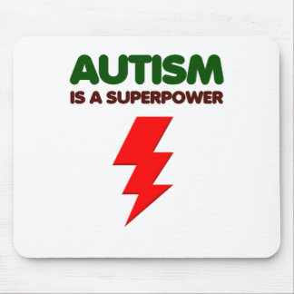 Autismus ist SuperPower, Kinder, Kinder, sich Mousepad