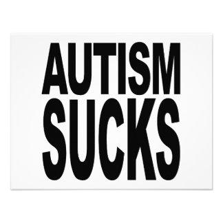 Autismus ist zum Kotzen Individuelle Einladungskarte
