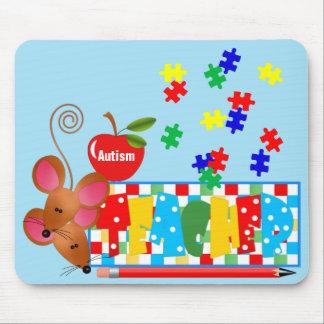 Autismus-Lehrer Mousepad