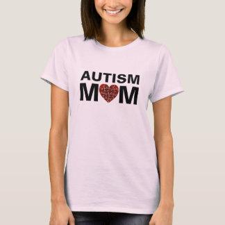 Autismus-Mamma-Herz-Liebe-Puzzlespiel T-Shirt