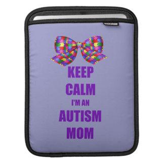 Autismus-Mamma iPad Sleeve