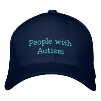 Autismus/NoLying, urteilend, Psychospiele Bestickte Kappe