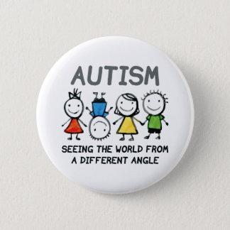 Autismus Runder Button 5,1 Cm