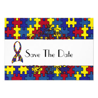 Autismus Save the Date Einladung