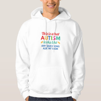 Autismus schaut Gleiches Hoodie