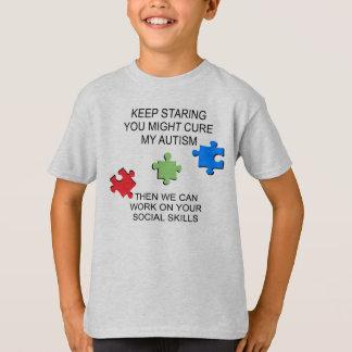 Autismus-Spektrum-Störungs-Bewusstsein T-Shirt