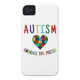 Autismus-Umarmung das Puzzlespiel iPhone 4 Hülle