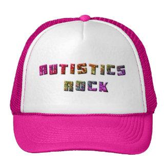 Autistics Felsen-Hüte Baseball Caps