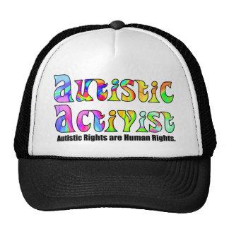 Autistische Hüte des Aktivisten-(Farbe) Netzkappen