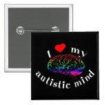 Autistische Sinnesknöpfe Buttons