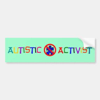 Autistischer Aktivist Autoaufkleber