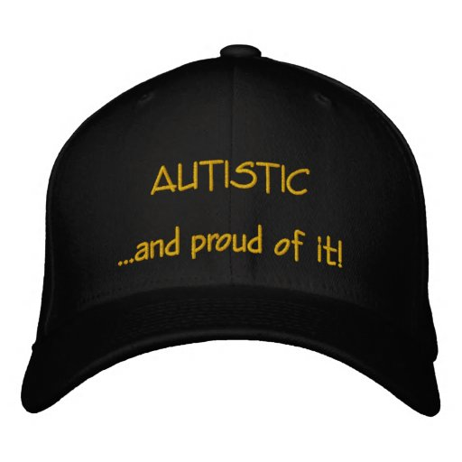 Autistischer und stolzer Hut Bestickte Mütze