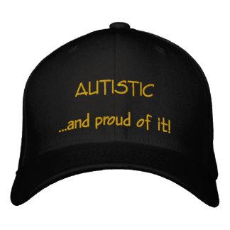 Autistischer und stolzer Hut Bestickte Kappen