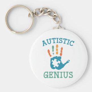 Autistisches Genie Schlüsselanhänger