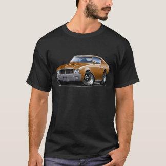 Auto 1970-72 Buicks GS Brown T-Shirt