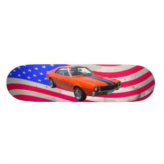Auto AMCs Javlin mit amerikanischer Flagge Personalisiertes Deck