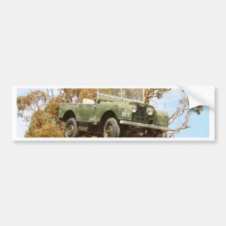 Auto auf einem Pfosten, Keith, Australien Autoaufkleber