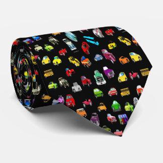 AUTO-AUTO-AUTO-Krawatte Bedruckte Krawatten