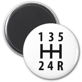 Auto-Auto-Gangschaltung 5 Runder Magnet 5,1 Cm