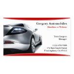 Auto-Auto-Geschäfts-Karte Visitenkartenvorlage