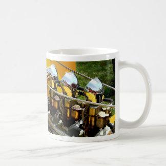 Auto-Chrom-Motor - Kaffeetasse