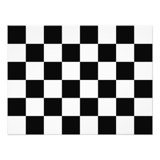 Auto, das karierte Checkered Flagge läuft Fotos