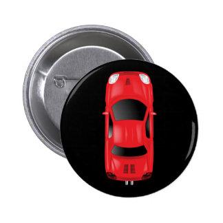 Auto-Draufsicht - Illustration Runder Button 5,1 Cm