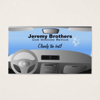 Auto-Fenster-Reparatur-Visitenkarten Visitenkarte