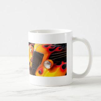 Auto-Flammen Kaffeetasse
