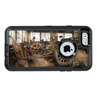 Auto - Garage - Arbeit des blauen Kragens 1923 OtterBox iPhone 6/6s Hülle