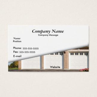Auto-Garage des Weiß-3 Visitenkarte