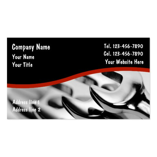 Auto-Geschäfts-Karten Visitenkarten