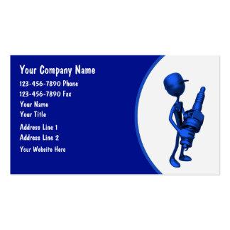 Auto-Geschäfts-Karten Visitenkartenvorlage