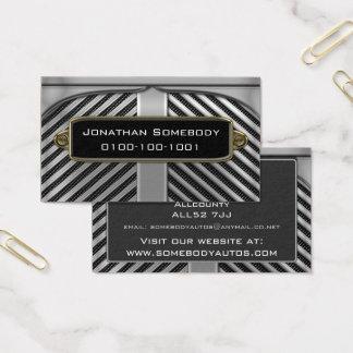 Auto-Geschäftsgeschäfts-Karten-Schablone 5 Visitenkarte