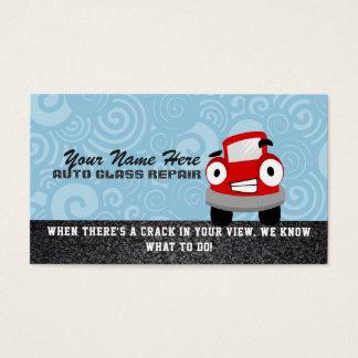 Auto-Glasreparatur-Visitenkarten Visitenkarte