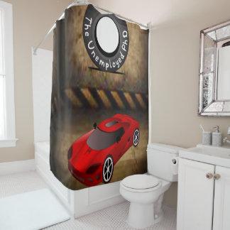 Auto-Jungen showercurtain des Reifens rotes Duschvorhang