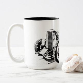 Auto-Kaffee-Tasse Zweifarbige Tasse