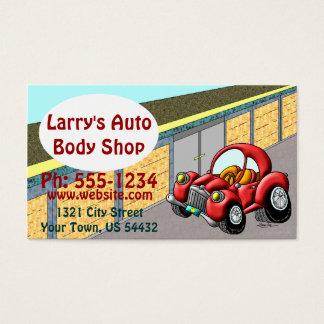 Auto-Körper-Geschäft Visitenkarte